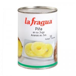 Piña en Rodajas Caja 12 uni x 0.5 kg