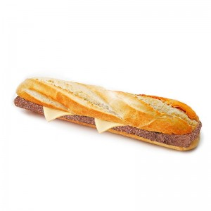 Baguette Cheeseburger Caja 6 und.