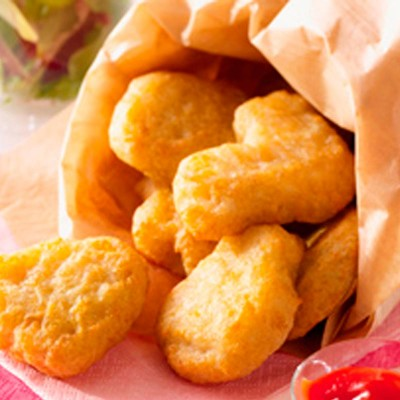 Nugget de pollo MC en tempura. Caja 5x1kg