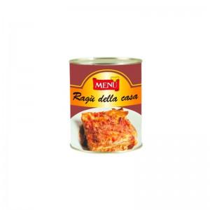 "Salsa boloñesa tradicional ""della casa"". Caja 24x830g."