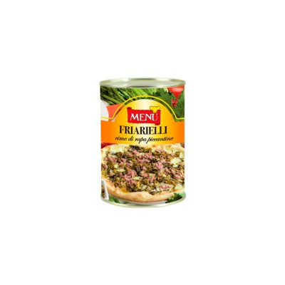 "Friarelli puntas de nabo ""picanticas"". Caja 12x410g."