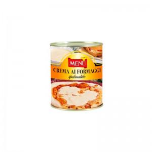 Crema de quesos untable. Caja 6x820g.