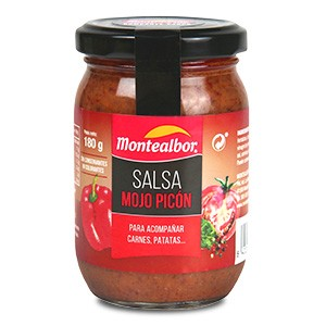 Salsa mojo picón.C/6X900Gr