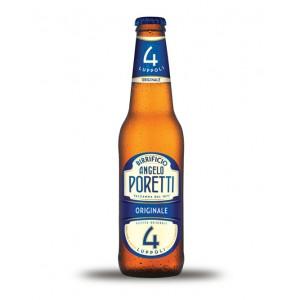 CERVEZA PORETTI 4 LUPOLOS.C/24X33CL
