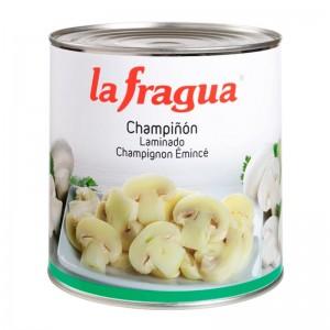 Champiñones laminados Lata 3kg