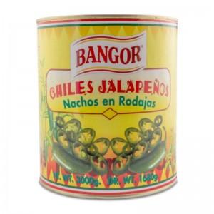 Jalapeños Laminados Lata 3kg