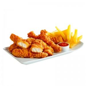 KFC Style Fingers Pollo HALAL.  Caja 5x1kg