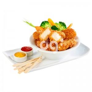 KFC Style Chunks (Trozos Pechuga) 20/40 gr. HALAL. Caja 5x1kg