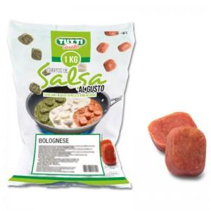 Salsa boloñesa en cubitos Caja 6 uni x 1kg