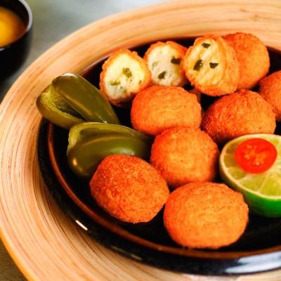 Jalapeño snack queso Caja 3 uni x 1kg