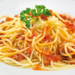 Spaghetti Boloñesa Caja 10 uni x 350gr