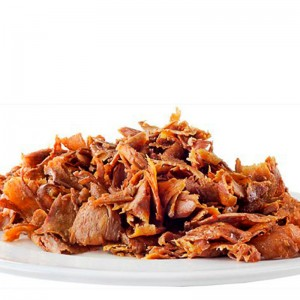 Loncheado kebab ternera Bandeja 2 kg