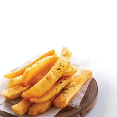 Patatas prefritas steakhouse 7/7 Caja 4 uni x 2.5 kg