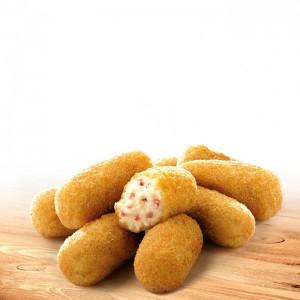 Croquetas de jamón serrano sin gluten C/12x300gr