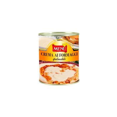 Crema de quesos untable. Caja 12x820g.