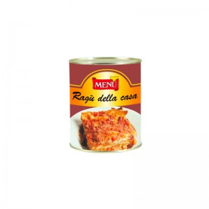 "Salsa boloñesa tradicional ""della casa"". Caja 6x830g."