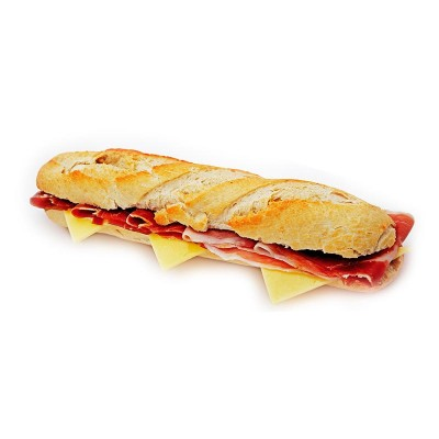 Baguette salchichas y bacon C/6 und.