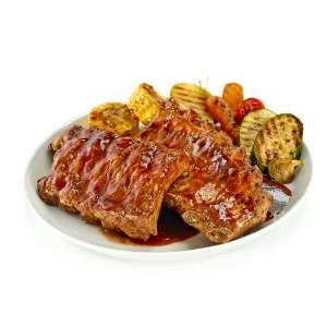 COSTILLA DE CERDO BBQ 550GR.C/10X550gr) sin gluten
