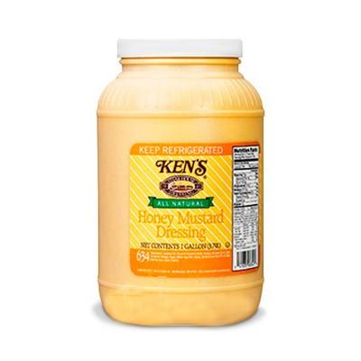 Salsa miel y mostaza Ken's Garrafa 1 galón (3.8L)